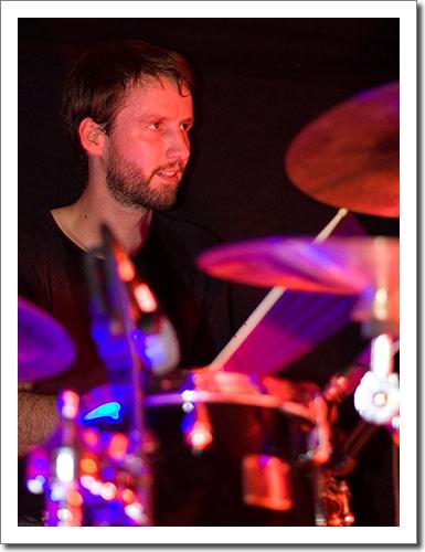 Michael, drums
