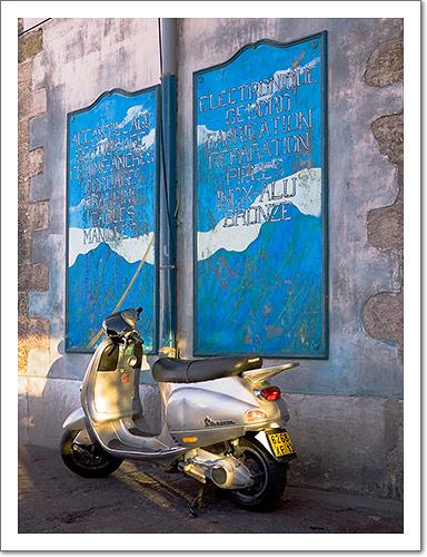 Vespa in Marseille