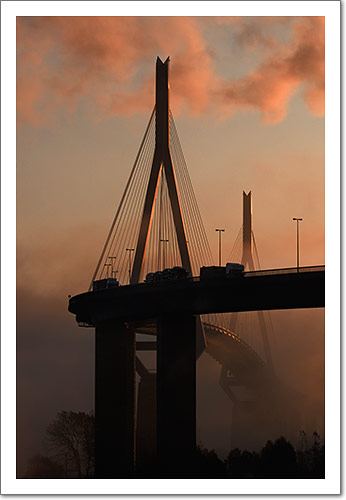Sunrise over Elbbrücken, Hamburg