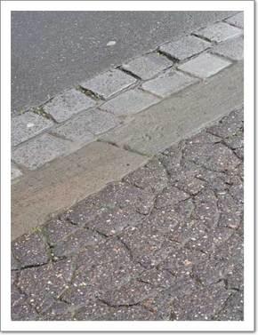 Pavement Patterns (original RAW image)