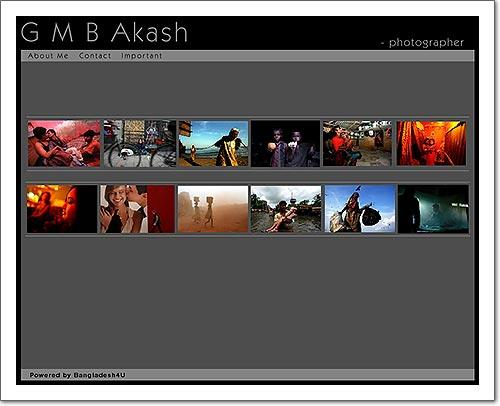 GMB Akash Web Page