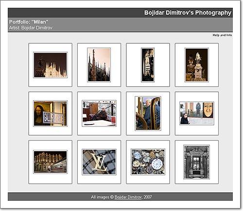 Milan Web-Gallery