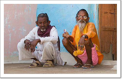 Two Men in Orchha