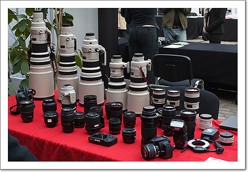 Canon Equipment
