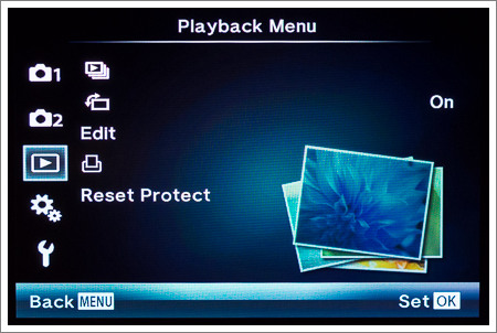 Playback Menu