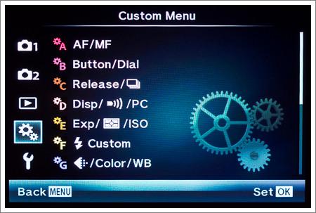Custom Menu